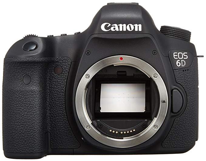 The Canon EOS 6D Digital SLR Camera