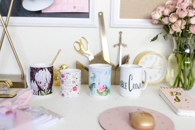 Unshakable Crown Mugs