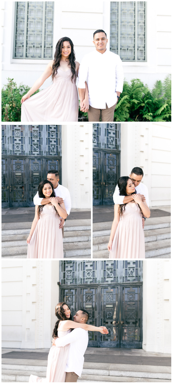 griffith observatory engagement shoot
