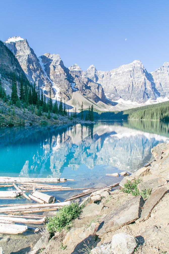 Lake Moraine, Alberta Canada