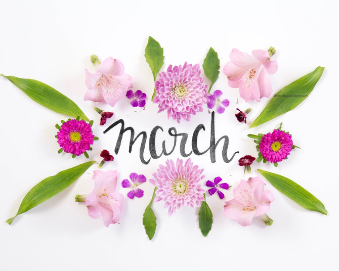 Happy March, Friends!