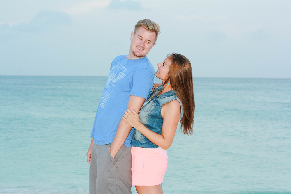 Aruba couple
