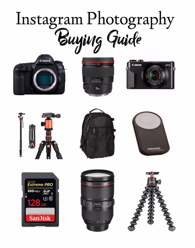 Instagram Photography Essentials Buying Guide
