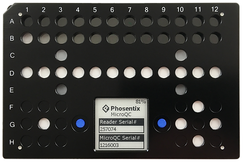 Phosentix MicroQC Plate - With All Options