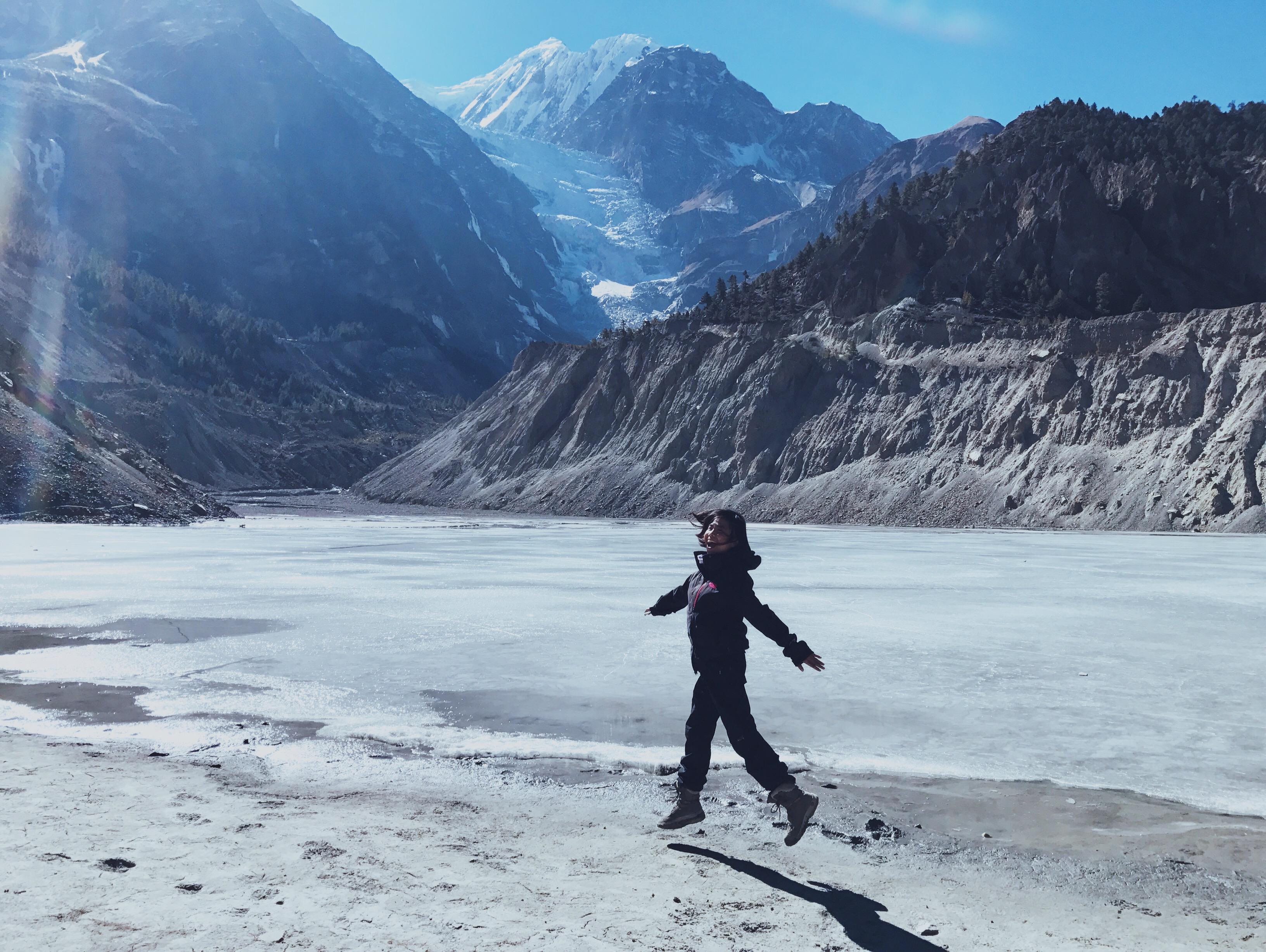 Gangapurna Lake, Annapurna Circuit Trek, Nepal