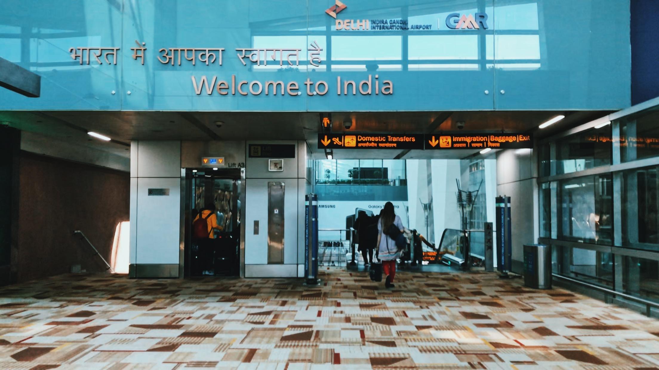 Đến Delhi rồi!
