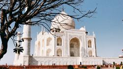 Taj Mahal gần hơn