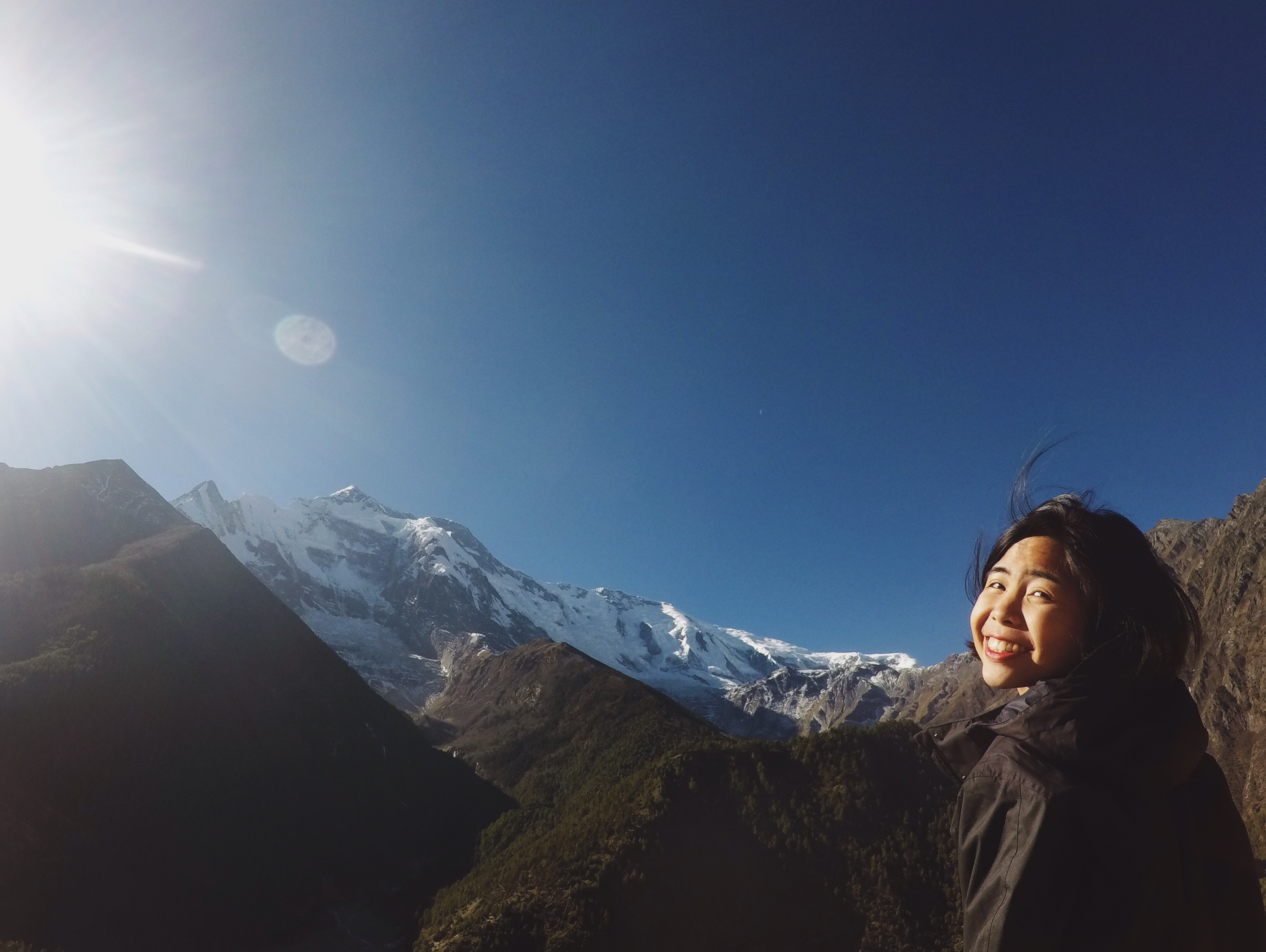 Upper Pisang, Annapurna Circuit Trek, Nepal
