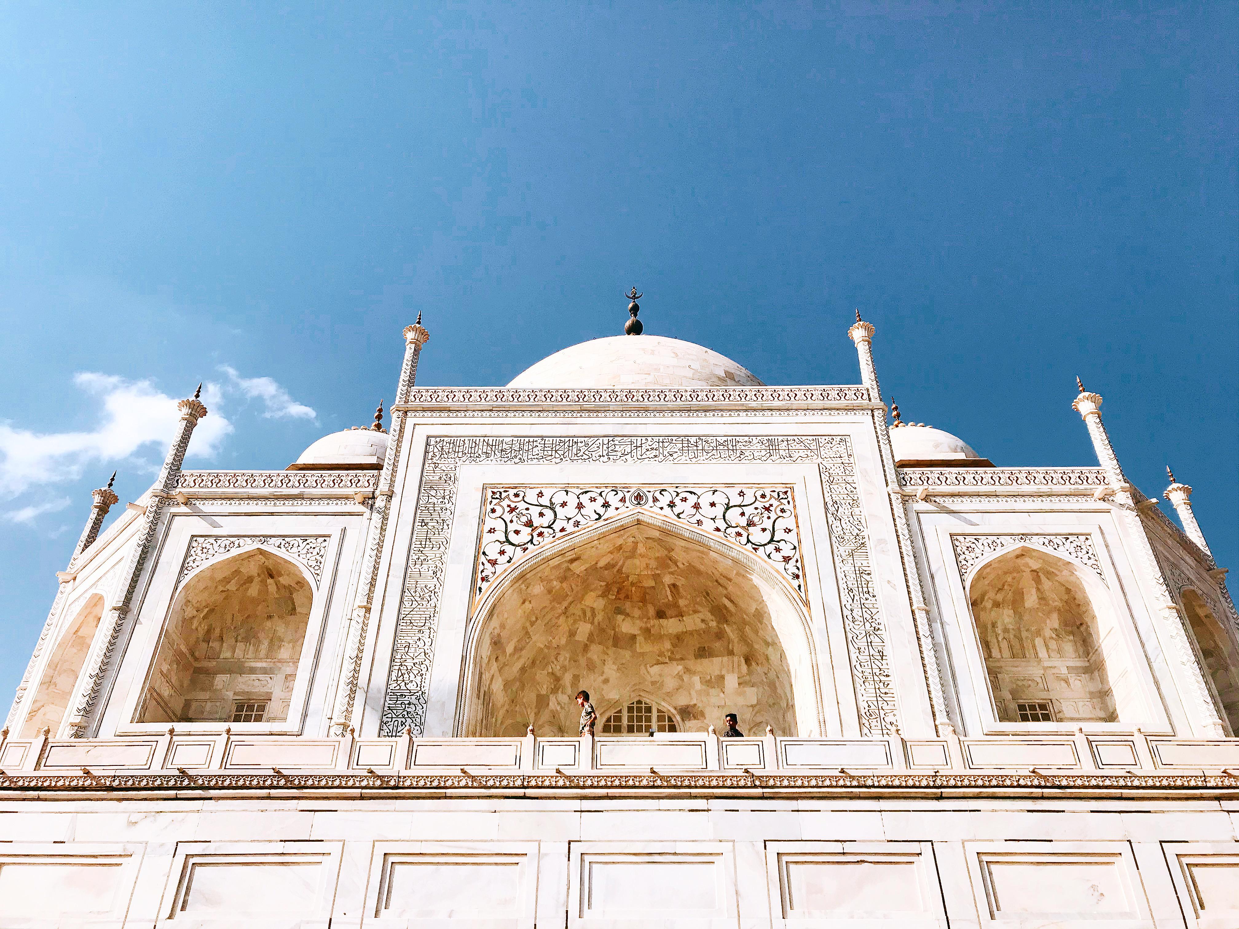 Taj Mahal gần nữa