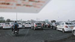 Kẹt xe ở Delhi
