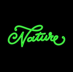 Nature Lettering