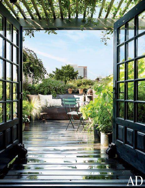 5 terrasses qui ne manquent pas de classe!