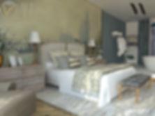 décoration d'intérieur, chambre haut de gamme, luxe, design