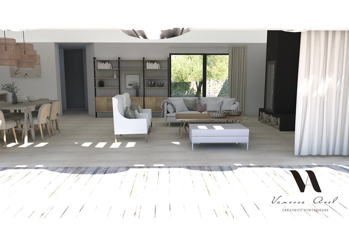 Architecte Interieur La Rochelle portfolio | vanessa avel créatrice d'intérieurs bordeaux la