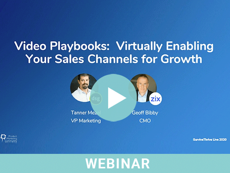Video Playbooks: Virtually Enabling Your Sales Channels for Growth