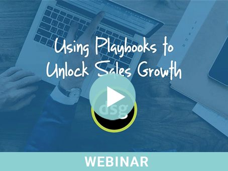 Using Playbooks to Unlock Sales Growth