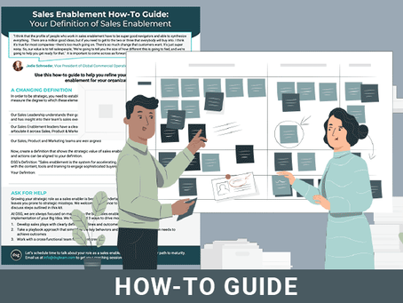 The Changing Definition of Sales Enablement