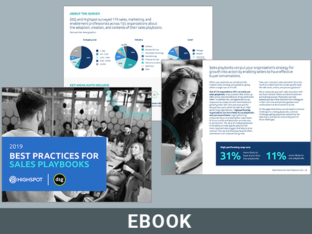 Best Practices for Sales Playbooks 2019