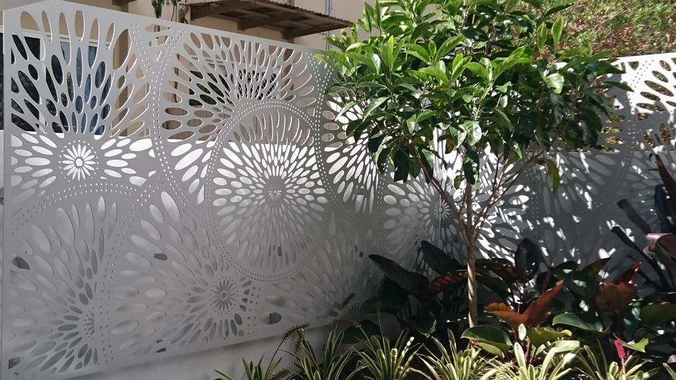 laser cut decorative metal