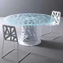طاولة ستانلس ليزر