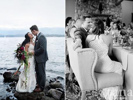Summer Wedding at Shore Lodge, McCall Idaho | Boise Wedding Photographer