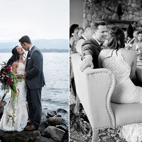 Summer Wedding at Shore Lodge, McCall Idaho   Boise Wedding Photographer