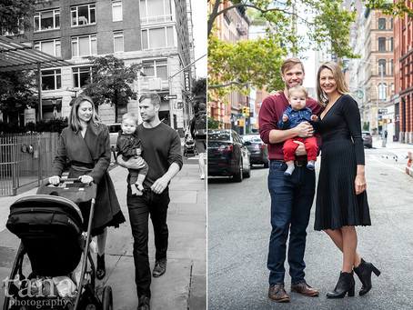 Family Photo Session in New York City's Tribecca | New York City Family & Wedding Photographer