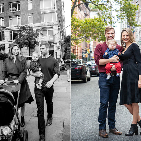 Family Photo Session in New York City's Tribecca   New York City Family & Wedding Photographer