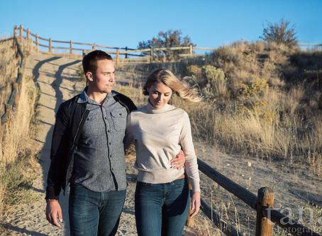 Foothills Engagement in Boise, Idaho / Boise Wedding Photographer