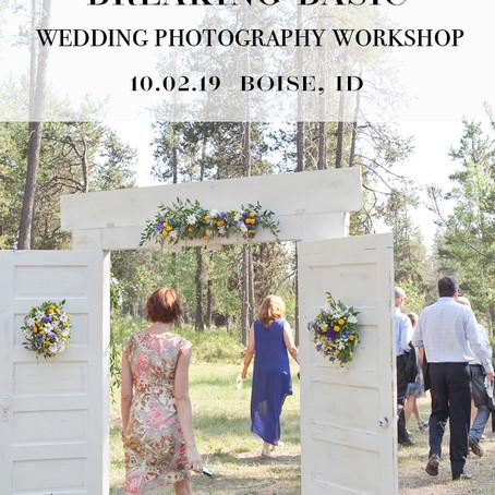 Boise Photography Workshop in downtown Boise, Idaho   Boise Wedding Photographer