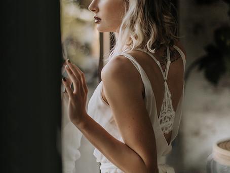 Model Katlyn in Ivy & Astor wedding gown...swoon!/ Boise Portrait Photographer