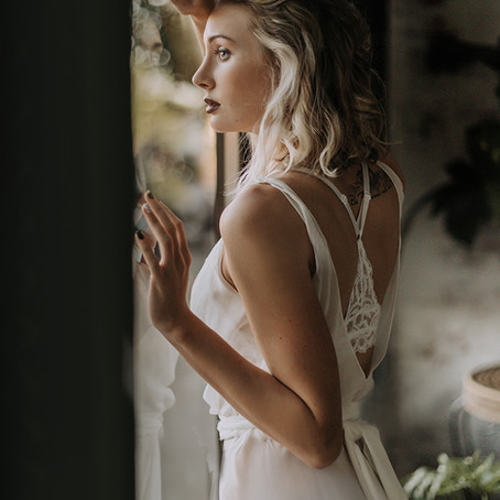 Model Katlyn in Ivy & Astor wedding gown...swoon!/ Boise Portrait Photographer
