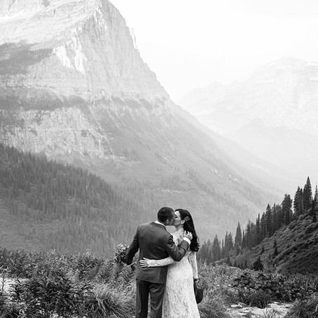 Preview of Elopement in Glacier National Park | Elope in Glacier National Park Tana Photography