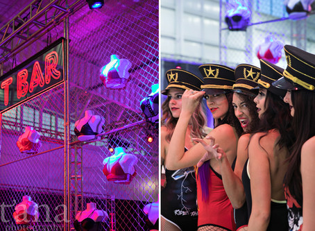 80's Theme Party in Jackson's Jet Center With Soiree Weddings and Events   Boise Photographer