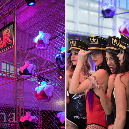 80's Theme Party in Jackson's Jet Center With Soiree Weddings and Events | Boise Photographer