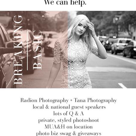 Wedding Photography Workshop in Boise, Idaho Oct 2nd!   Boise Wedding Photographer