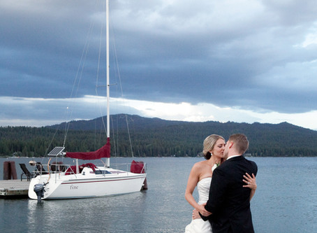 Shore Lodge Wedding in McCall with Soiree Weddings and Events | Idaho Wedding Photographer