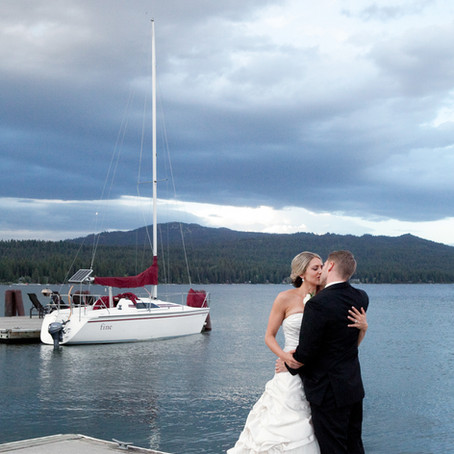 Shore Lodge Wedding in McCall with Soiree Weddings and Events   Idaho Wedding Photographer