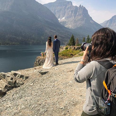 Glacier Elopement Photographer