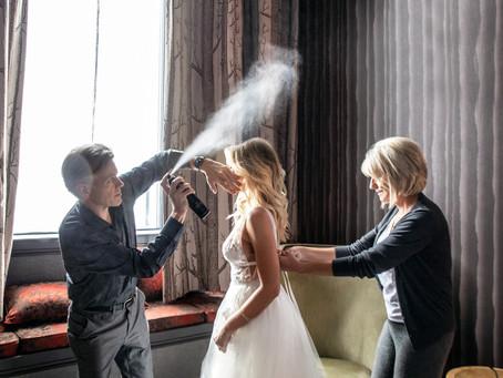 Snowy Winter Wedding at Shore Lodge, McCall Idaho / Boise and McCall Wedding Photographer
