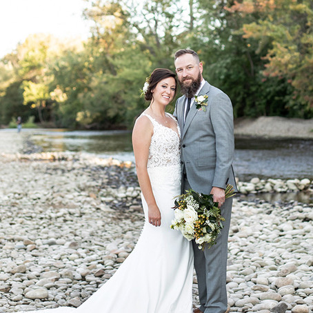 Beautiful Fall Wedding with Bliss Events, Boise, at Idaho's Water's Edge Event Center. Boise Wedding