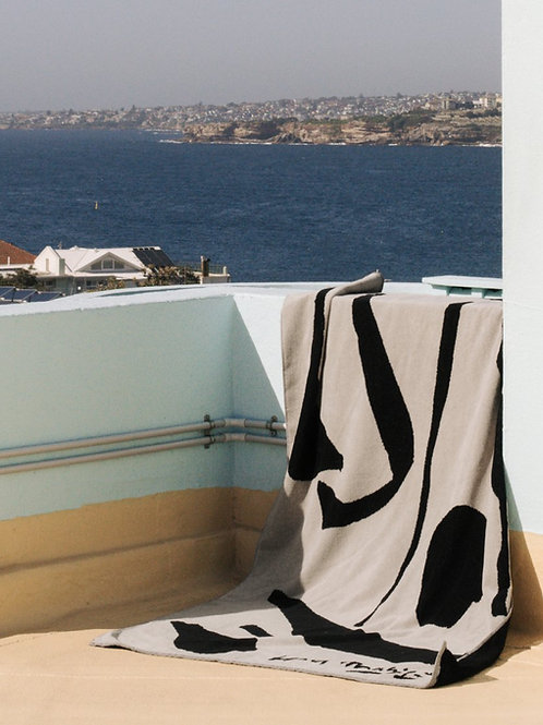 The sun came up - Hotel Magique Beach Towel