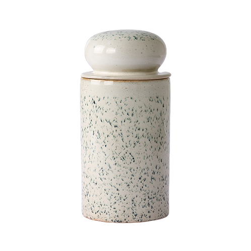 70s ceramic jar
