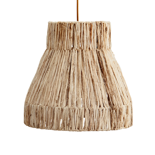 Grass bohemian lamp