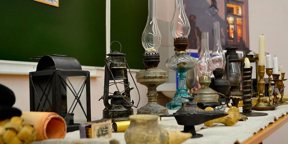 Лампа керосиновая, свечка стеариновая, или как жили люди до появления электрического света