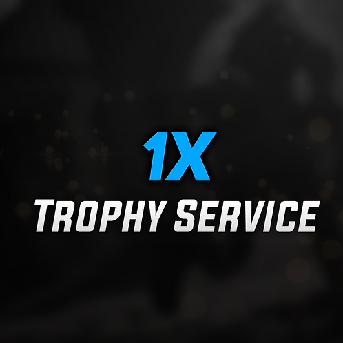1x Each Trophy Modified Service