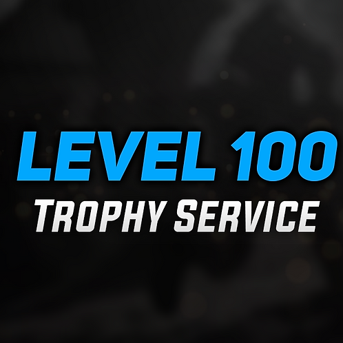 PSN Trophy Level 100 Service - PS3 Titles