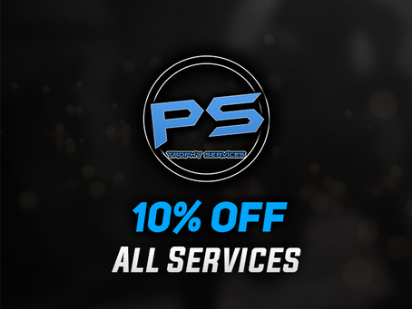 10% Off All Services - #StayAtHome
