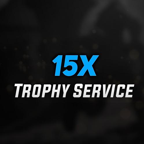 15x Platinum Trophy Games