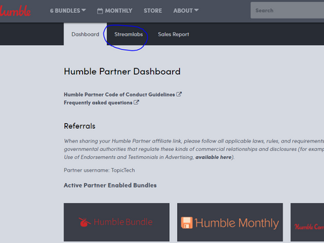 Mixer Stream + Humble Bundle Partner Alerts